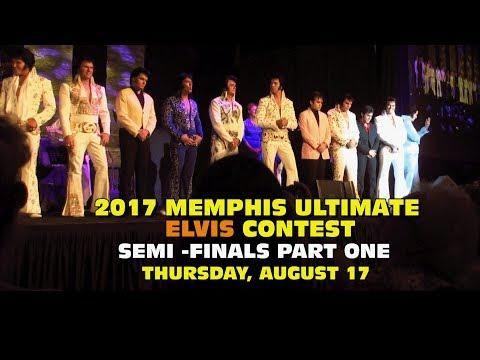 2017 Memphis Ultimate Elvis Contest Semi Finals - Part One