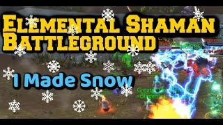 WoW BFA Elemental Shaman PvP | There is SNOW