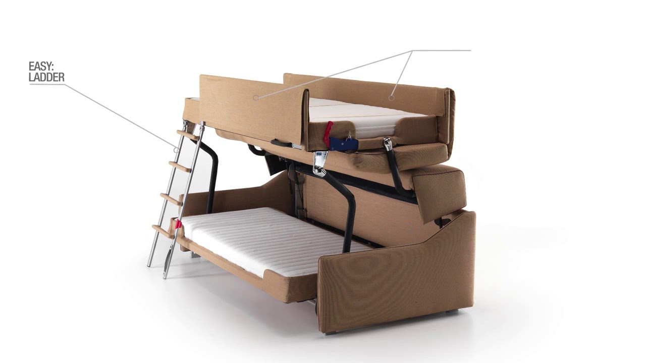 Bunk Sofa Bed Milano Smart Living