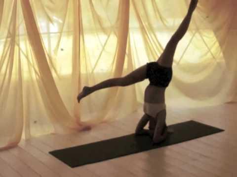 dynamic yoga headstand  youtube