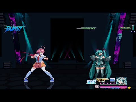 MUGEN: Heart Aino (Me) Vs Hatsune Miku