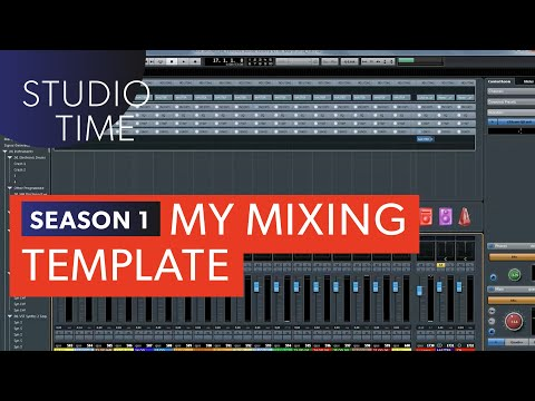 Episode 2: Mixing Template - Studio Time with Junkie XL