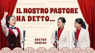 """Sketch comico – """"Il nostro pastore ha detto…"""" (Doppiaggio italiano)"""