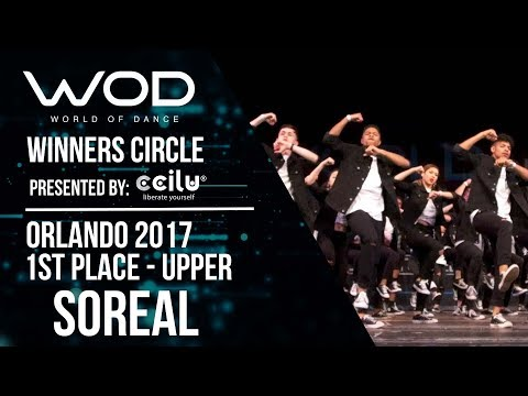Soreal | 1st Place | World of Dance Orlando 2017 | Winners Circle | #WODFL17