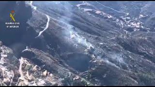 Así está afectando el fuego a la isla de Gran Canaria