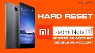 видео Xiaomi Redmi Note 3 Pro Hard reset