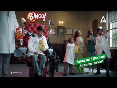 Bingo! Potato Chips - SMS TV Ad #ApnaAsliFlavour (Hindi)
