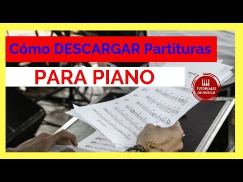 como-descargar-partituras-para-piano