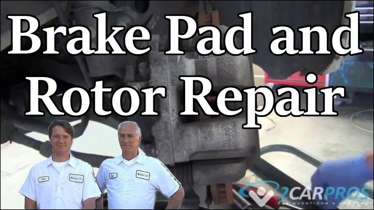 Front Brake Pads And Rotor Replacement Hyundai Sonata 2010 2014 2015 Wiring Diagram