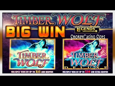 Timber Wolf Deluxe Slot Free Spins Big Win Bonus