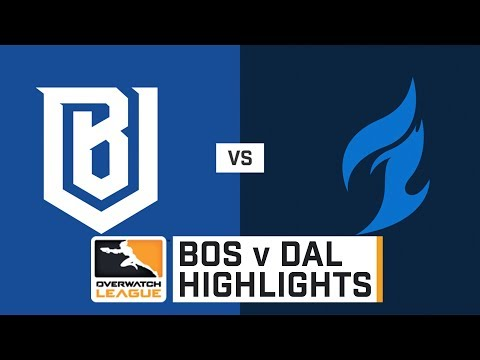 HIGHLIGHTS Boston Uprising vs. Dallas Fuel | Stage 1 | Week 5 | Day 1 | Overwatch League thumbnail