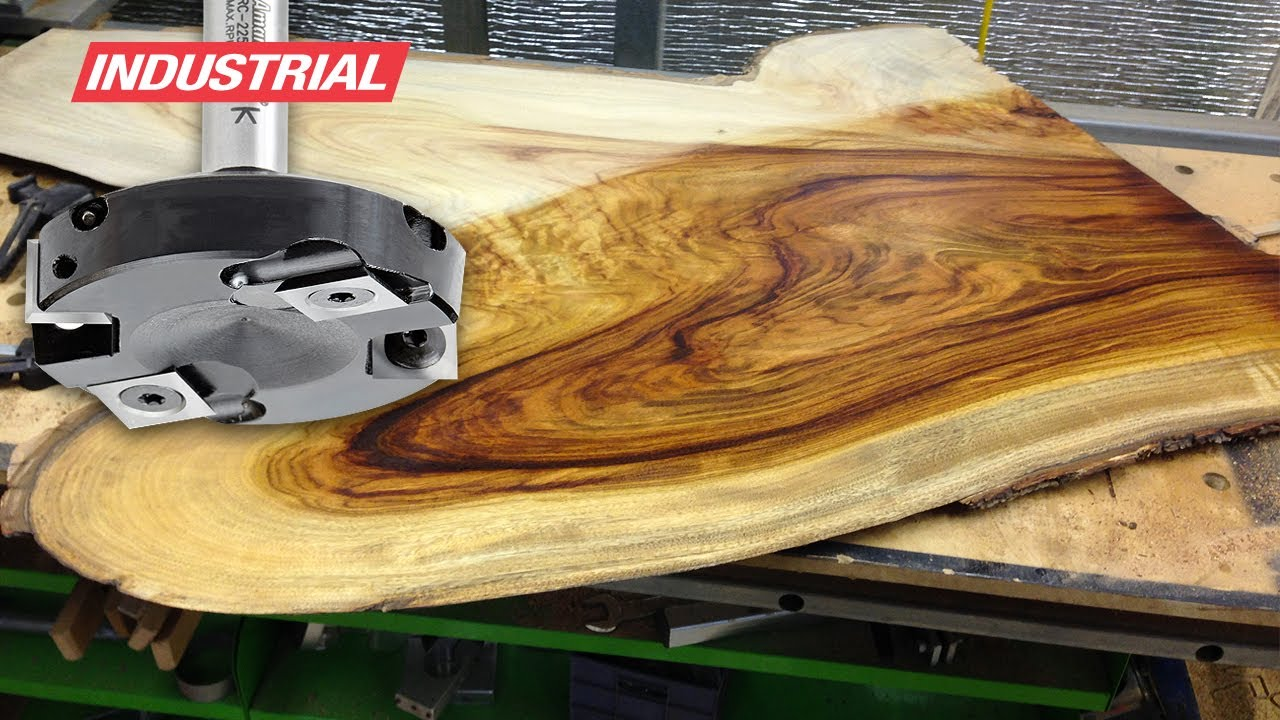 Woodworking Project: Surfacing Wood w/Amana Tool ...