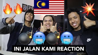 Download Lagu B-QUEXX | INI JALAN KAMI (OFFICIAL LYRICS VIDEO) - MALAYSIAN REACTION mp3