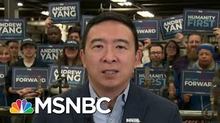2020 Dem Yang Hits Biden Over Coal Miner-Tech Remarks   The Beat With Ari Melber   MSNBC