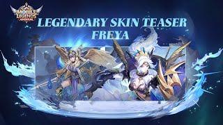 New Skins   Freya-Obsidian Flames   Mobile Legends Adventure