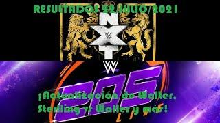Resultados de NXT UK y 205 Live 22/Julio/2021 (¡Actualización de Walter, Sterlling vs Waller y más!)