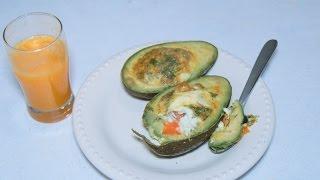 omelette avocado
