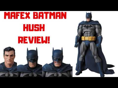 Mafex Batman Hush Figure Review Youtube