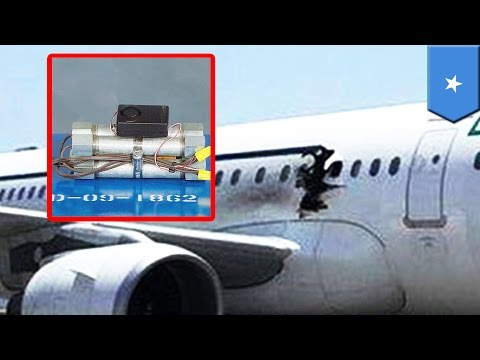 Somalia plane explosion: Suicide bomber smuggled explosives on board in a wheelchair - TomoNews