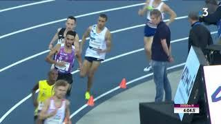Athlétisme : le Toulousain Djilali Bedrani nouveau champion de France du 3000 m en salle