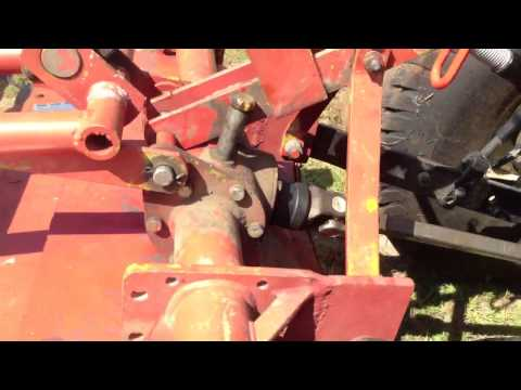 Yanmar RS1200 Tiller resurrected - YouTube