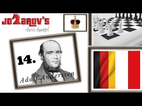 "Best Chess Games Of All Time : Adolf Anderssen Vs Jean Dufresne 1-0  ""The Evergreen Partie"""
