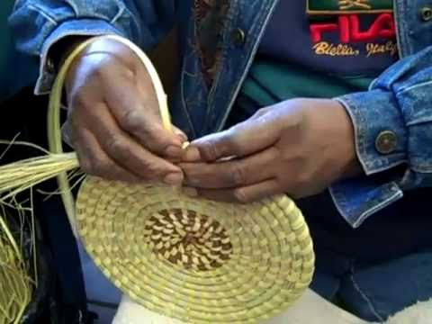 Sweet Grass baskets from South Carolina YouTube