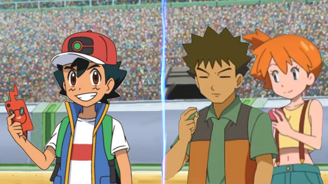 Download Pokemon Sword and Shield: Ash Vs Misty and Brock (Pokémon Misty and Brock Return)