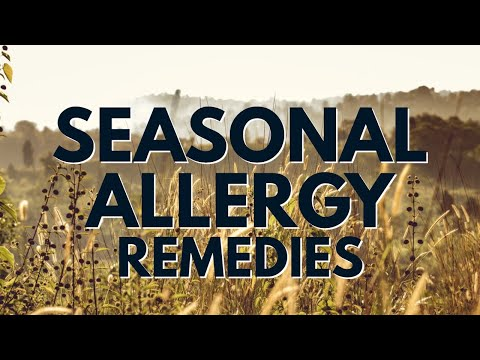 Top 5 Remedies For Seasonal Allergies