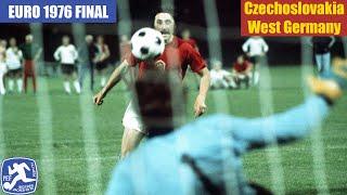 EURO 1976 Final Czechoslovakia vs West Germany Highlights