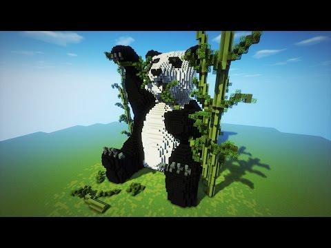 Minecraft- Organic PANDA Timelapse