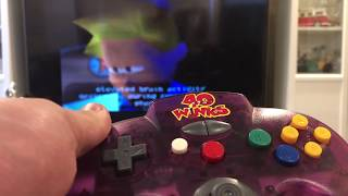 N64 40 Winks Special Edition box opening and breakdown of game and Controller