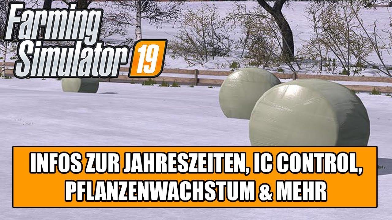 79052a97a292a9 LS19 offizielle Antwort zu den Jahreszeiten/Seasons Mod, zum IC Control,  dyn.Pflanzenwachstum & Mehr
