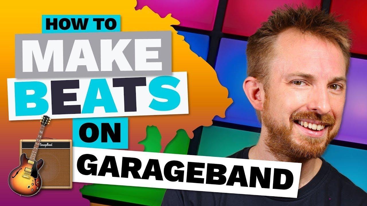 how to use garageband to make beats