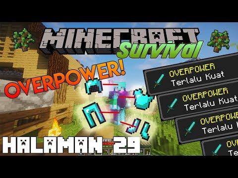 TERLALU KUAT | Minecraft Survival Indonesia Nostalgia | Halaman 29