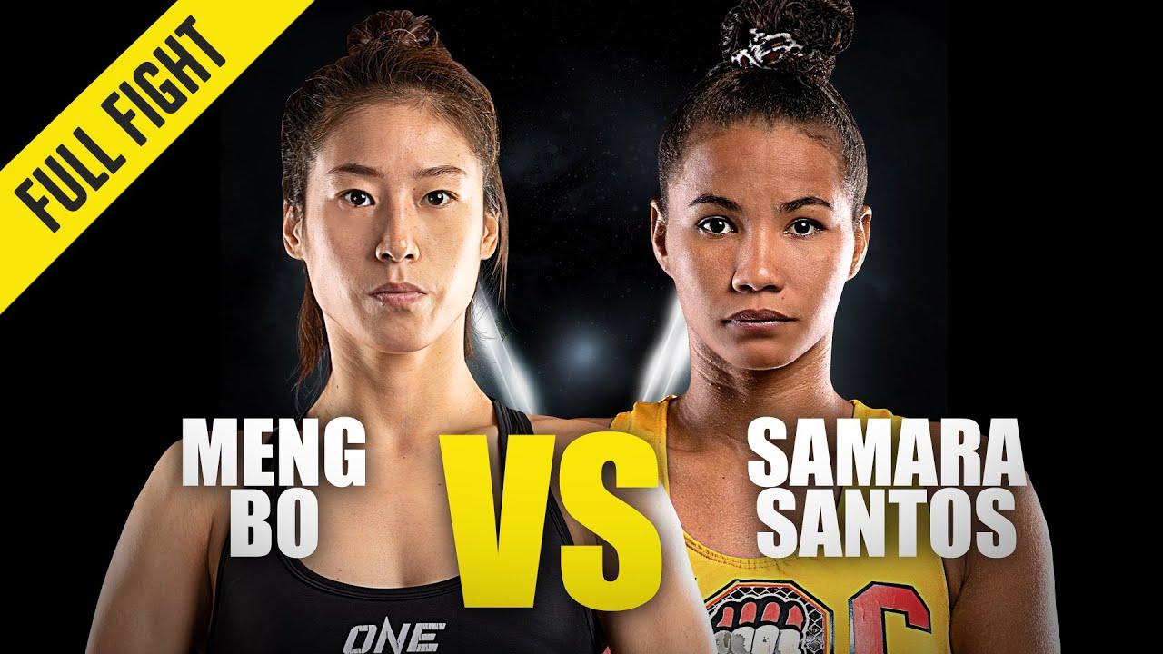 Meng Bo vs. Samara Santos | ONE Championship Full Fight
