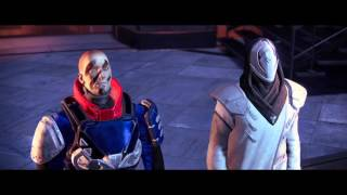 Destiny - titan meeting the speaker cutscene