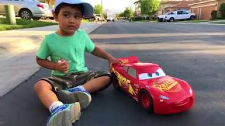 Disney Cars  Toys Lightning McQueen  Thomas and Friends Toy Trains Percy