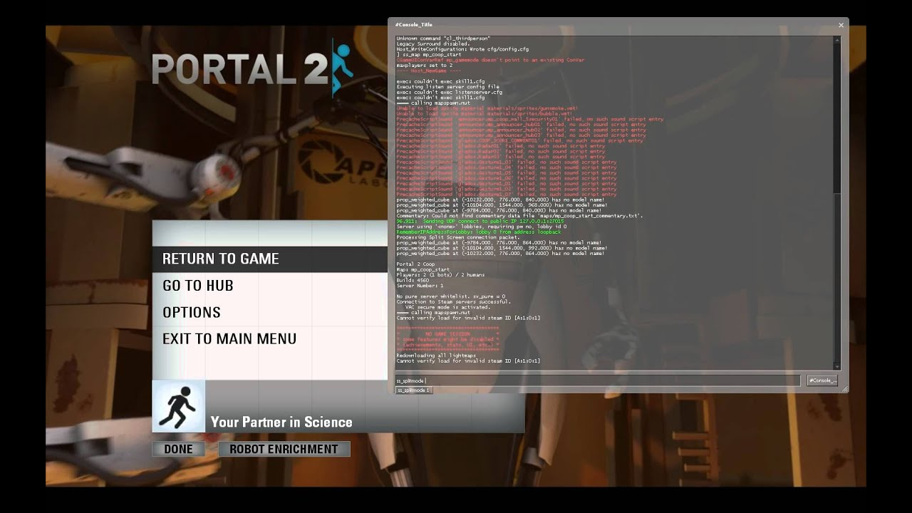 How to play Portal 2