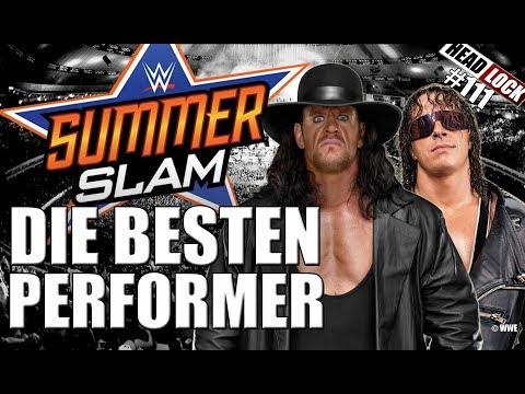 #111: Die besten Summer-Slam-Performer - Das Headlock-Ranking