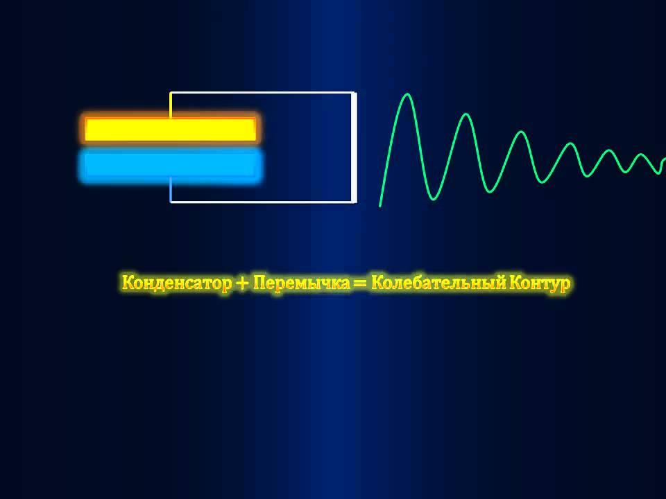 Куда исчезает энергия при разряде конденсатора