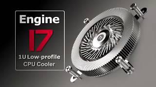 Engine 17 1U Low-Profile CPU Cooler