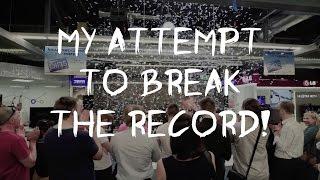 Rokas' attempt to break the Guinness World Record 2016