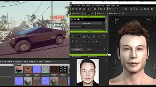 Tesla CyberTruck - Dev VideoGame Unreal Engine 4