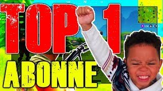 FORTNITE | FAIRE UN TOP 1 AVEC UN ABONNE ! EPIC RÉACTION [Battle Royale FR]