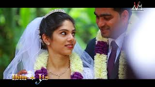 KERALA christian wedding hilights Ibin+Jis