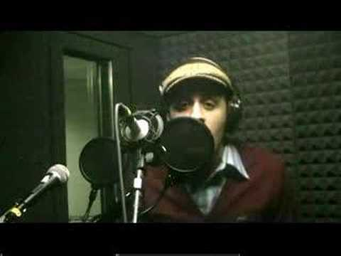 Guy singing like a women