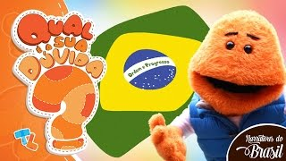 Por que a bandeira do Brasil é verde, amarela, azul e branca? #Ticolicos|Narrativas do Brasil