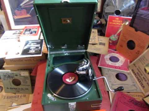 My Bonnie  - Down in Demerara - Stuart Robertson - Bass Baritone - 78 rpm - HMV 102