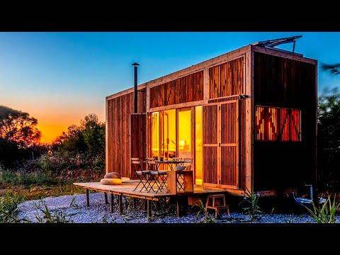 4 Unique Tiny Cabins ▶ Inspiring Architecture 🏡